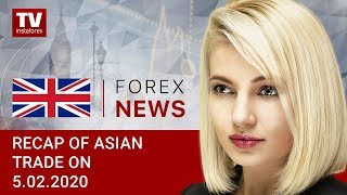 InstaForex tv news: 05.02.2020: Investors weary from news on coronavirus: outlook for USD/JPY, AUD/USD