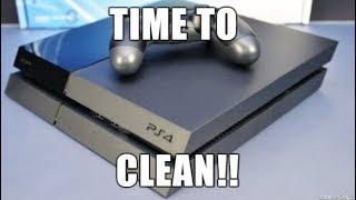 How To Clean Your PS4 - The Easy Way!!