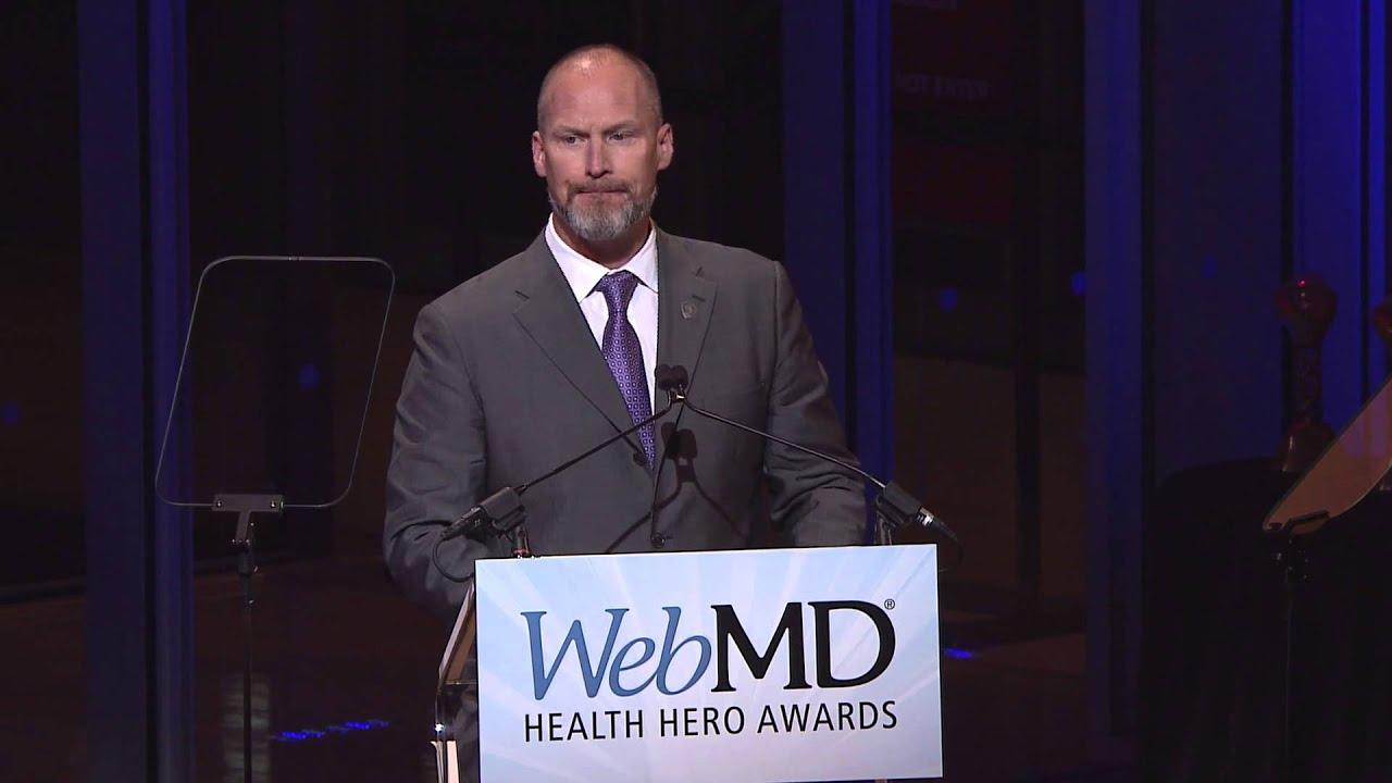 "2015 WebMD Health Hero Ronald ""Jake"" Clark - YouTube"