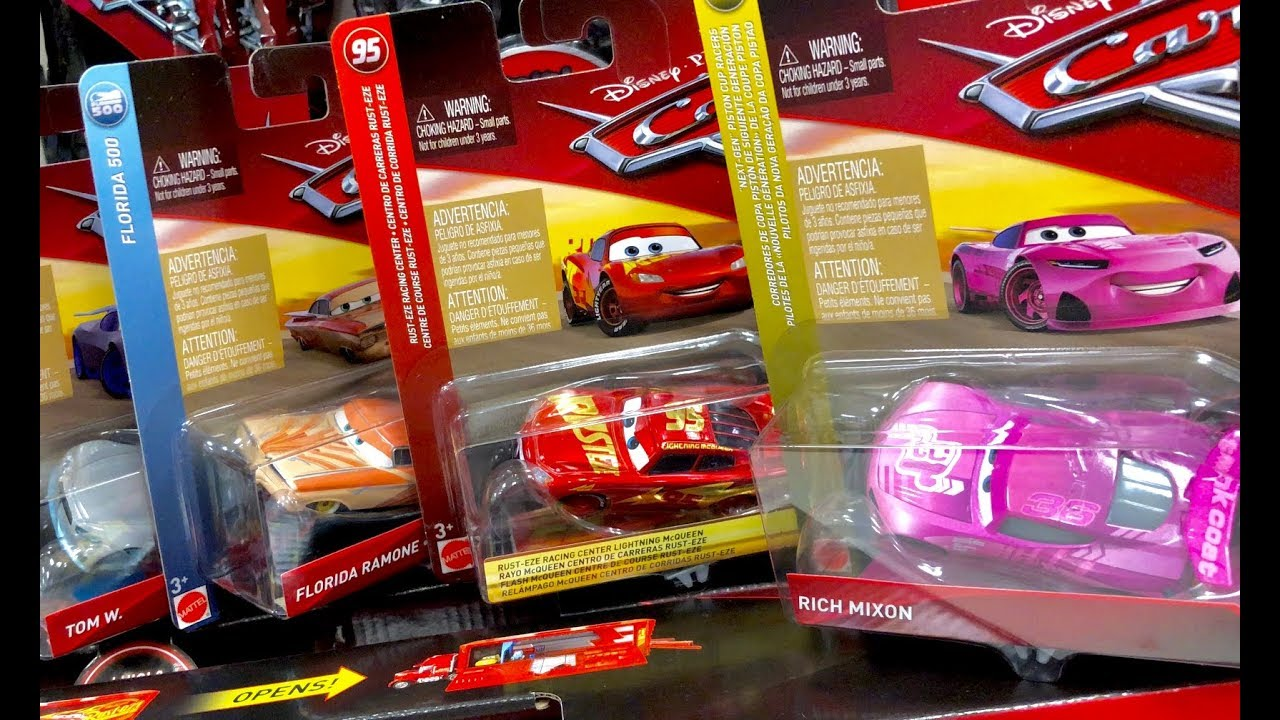 New Disney Cars 3 Toys Hunt - 2018 Disney Cars Found at Target exclusive  Rusteze Lightning McQueen 2ed96f96ecd