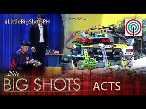 Little Big Shots Philippines: Aky | 12-year-old Robot Builder