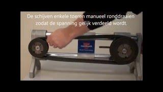 Optibelt onderhoud & montage(Montage van V-riemen Laser Pointer II TT Optical TTmini - S Optikrik Groefhoekmeter., 2016-02-03T14:02:00.000Z)