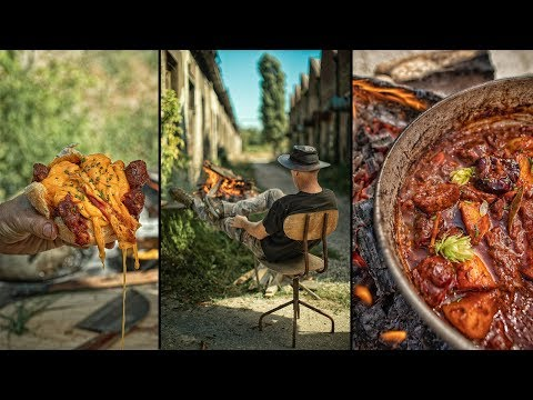 BEST STEW EVER! - COOKING IN ABANDONED CITY