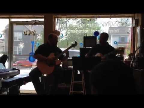 Performance at Bluefish Music, Plymouth, MI