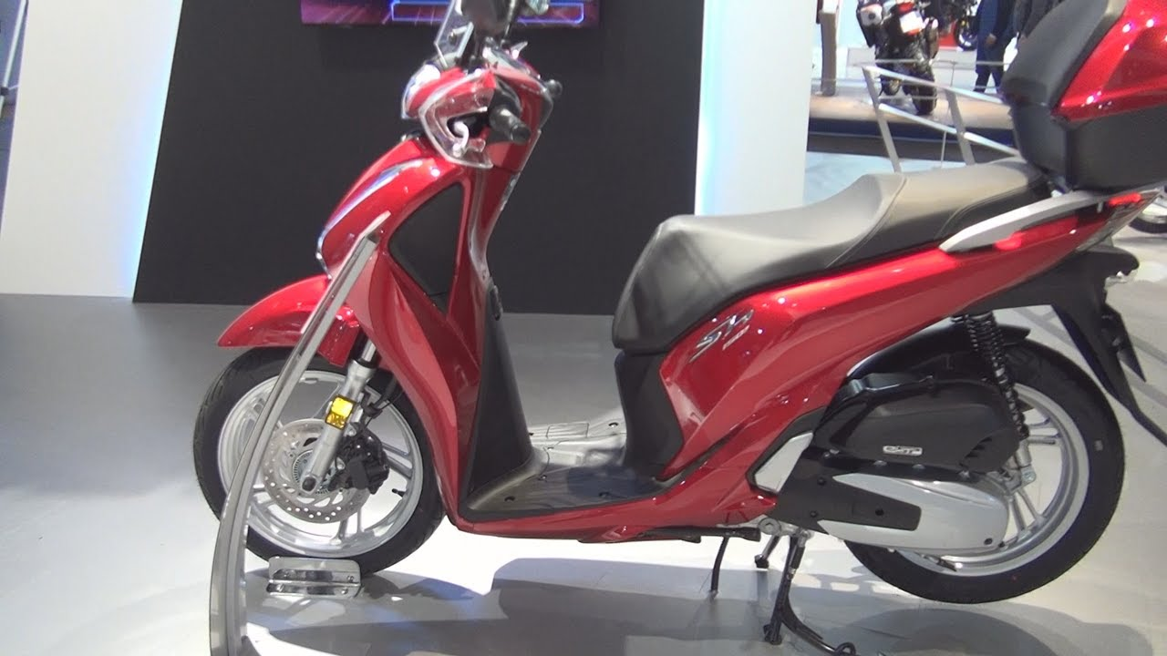 Honda SH150i ABS (2017) Exterior and Interior in 3D - YouTube