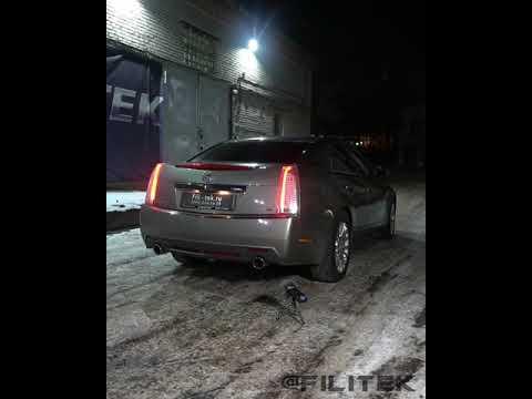 Спортивные глушители Cadillac CTS 3.6