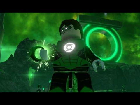LEGO Batman 3: Beyond Gotham -  Oa Free Roam Gameplay (Lantern Planet)