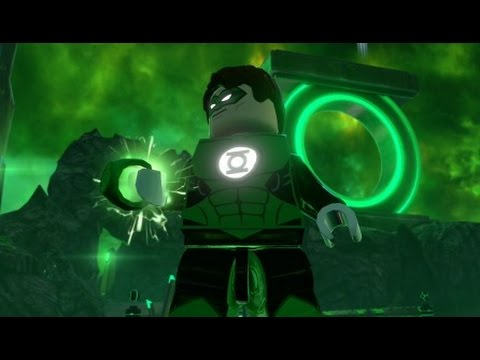 LEGO Batman 3: Beyond Gotham -  Oa Free Roam Gameplay (Lantern Planet)