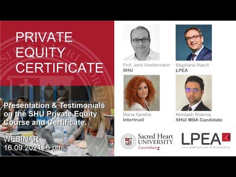 LPEA-SHU Private Equity Certificate