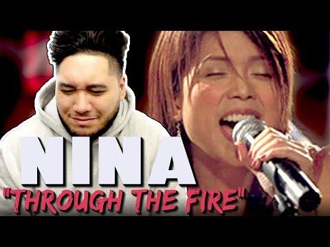 Nina - Through The Fire (Chaka Khan Cover) REACTION!!!