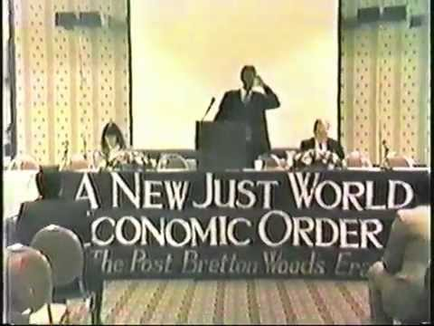 1988 Schiller Conference on the New Bretton Woods part 1