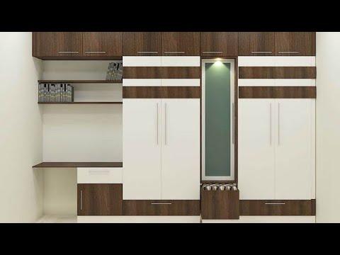 Simple Bedroom Interior Design Ideas / बेडरूम अलमारी & Bed Interior Designs (wood Work Zk)