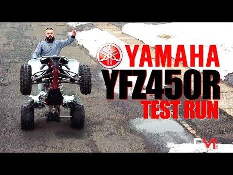 2018 YFZ 450R Special Edition Test Run