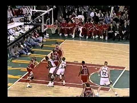 Michael Jordan 45 points (half-court shot)  vs Sonics (1997)