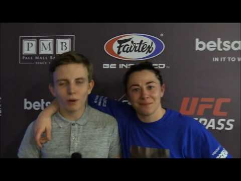 Molly McCann Cage Warriors 82 Post Fight Interview