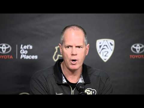 CU Men's Basketball Head Coach Tad Boyle Gives End Of Season Press Conference