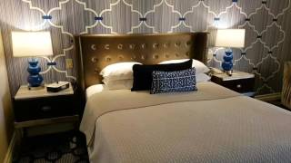 Bellagio Hotel & Casino Las Vegas (Resort King Room - West Wing 27119) Room Tour 8th January 2017