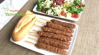 Kolay Şiş Kebab - Ev Usulü En Kolayından Kebab Tarifi / Hayalimdeki Yemekler