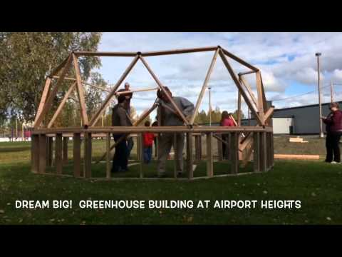 Airport Heights Elementary School Builds a Greenhouse
