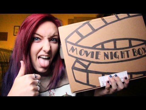 MOVIE NIGHT BOX UNBOXING