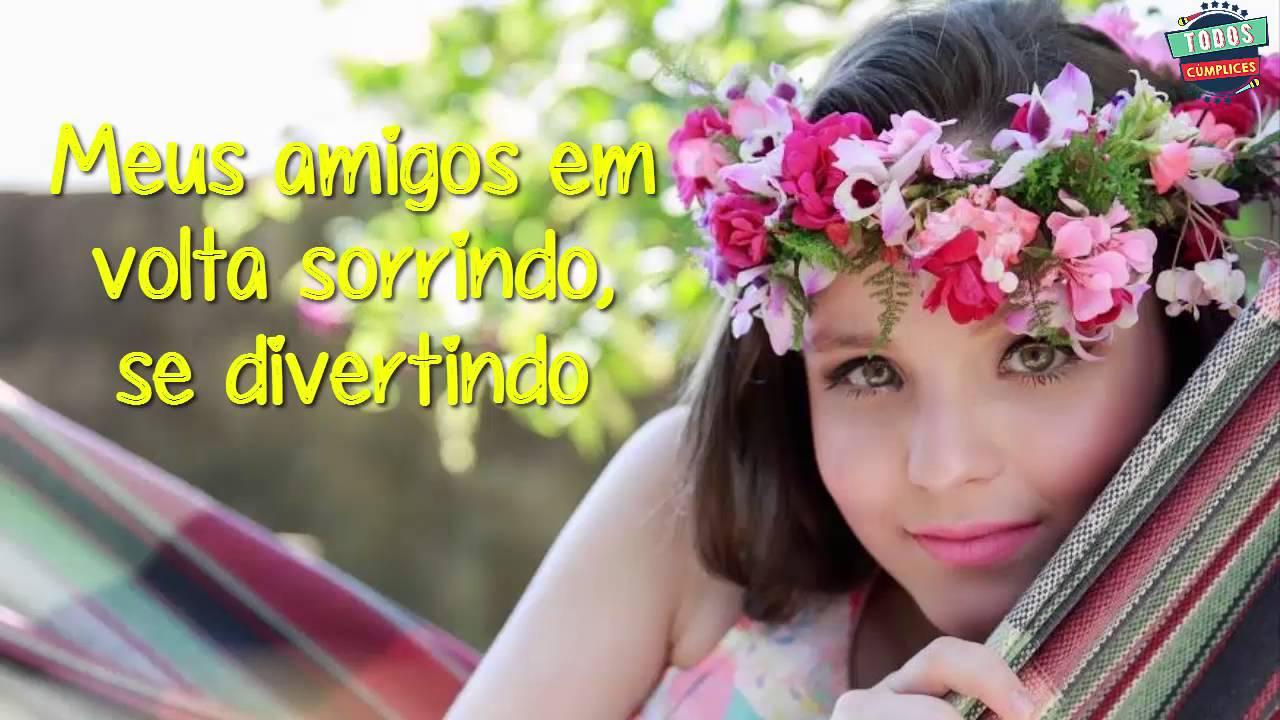 Hoje é meu dia - Larissa Manoela (LETRA) - YouTube 23f51adb73