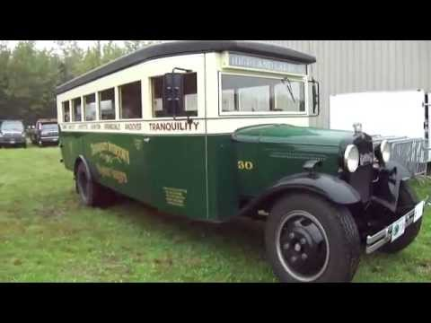 Check Out A 1930 Ford Bus
