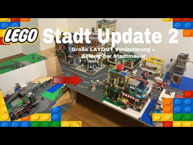 Stadt Update 2/ Große Layout Änderung und Anfang der Stadtmauer