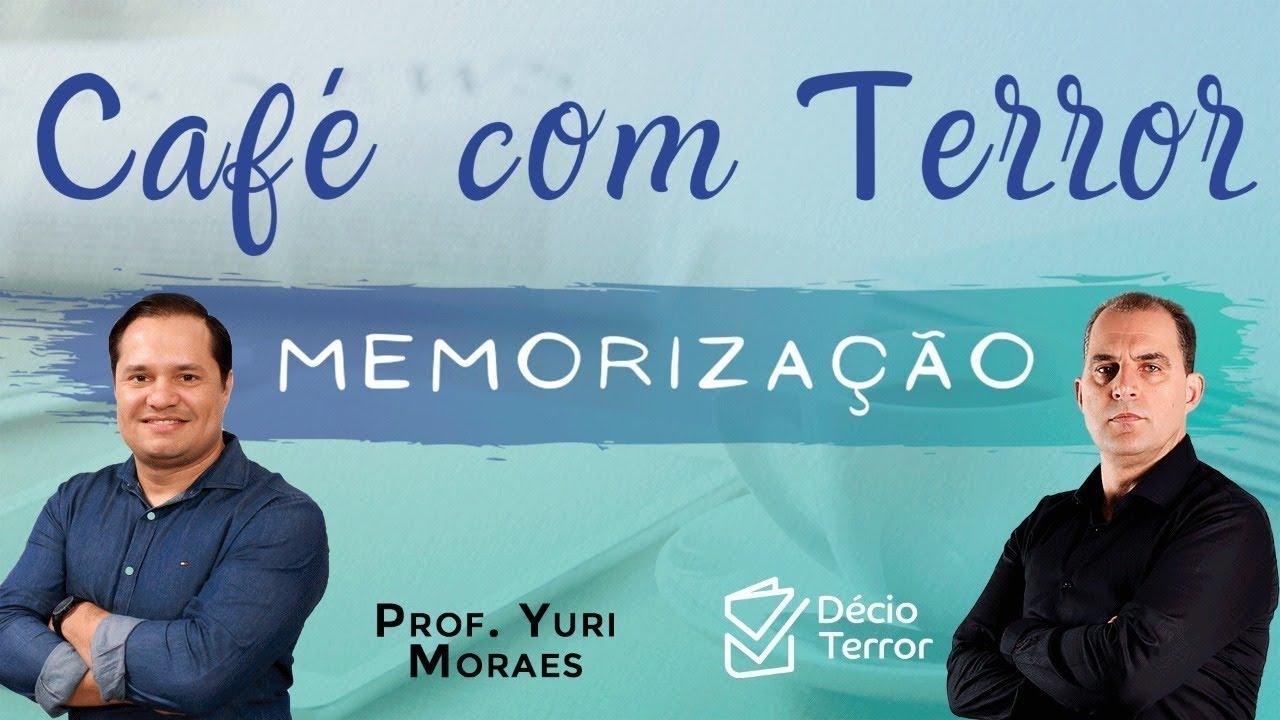 Café com Terror: Memorização - convidado Yuri Moraes