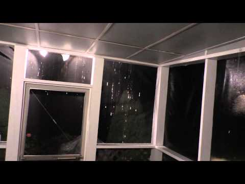 Severe Thunderstorms In Early Morning 7/15/2015