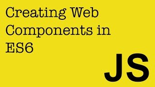 Creating Web Components in JavaScript (ES6) to use in your Angular, React and Ember projects