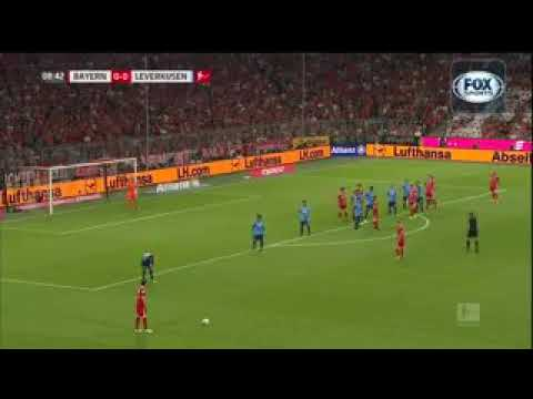Gols bayern de Munique 3 x 1 bayer leverkusen fox sports  budesliga