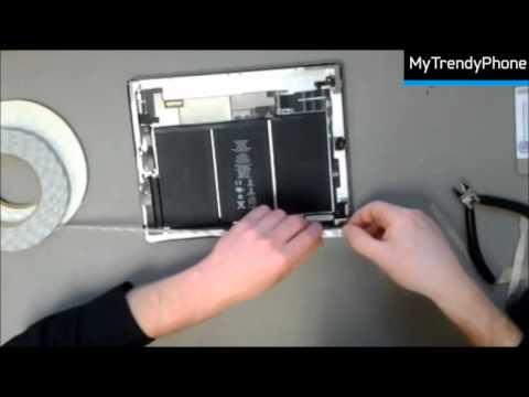 Video-guide- Byt pekskärm på din iPad 2 själv - YouTube