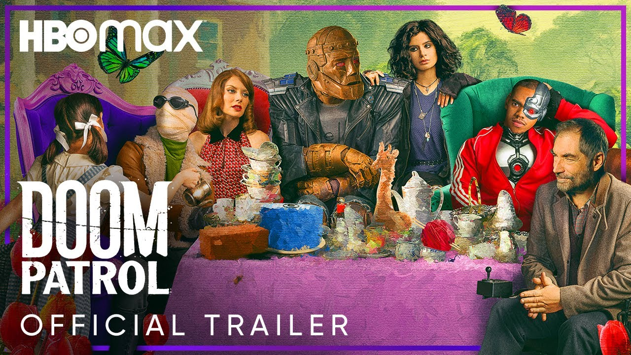 Doom Patrol Season 2 Official Trailer Hbo Max Youtube