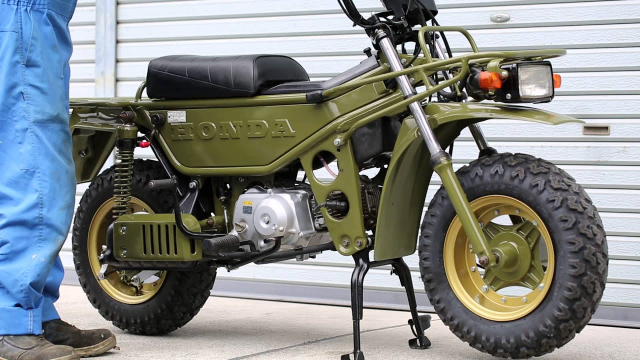 ホンダ・モトラ・レストア・75cc...