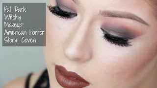 Dark Witchy Fall Makeup: American Horror Story Inspired Thumbnail