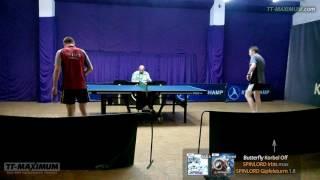 Владимир Максюта - Савченко матч 2: защита SPINLORD Irbis max и Gipfelsturm 1.8 на Korbel Off