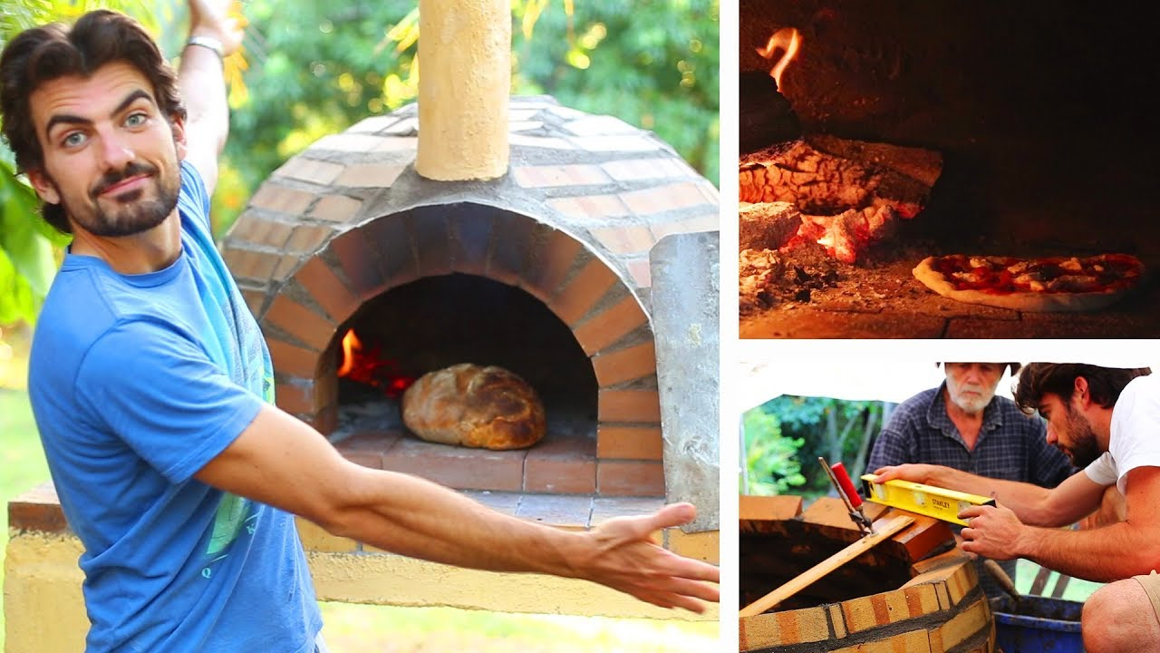 Faire Soi Meme Son Barbecue Exterieur brick pizza oven: construction