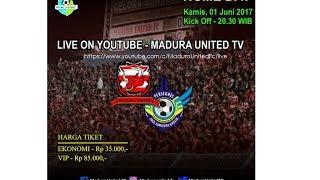 Liga 1 Gojek Traveloka Madura United vs Persegres GU