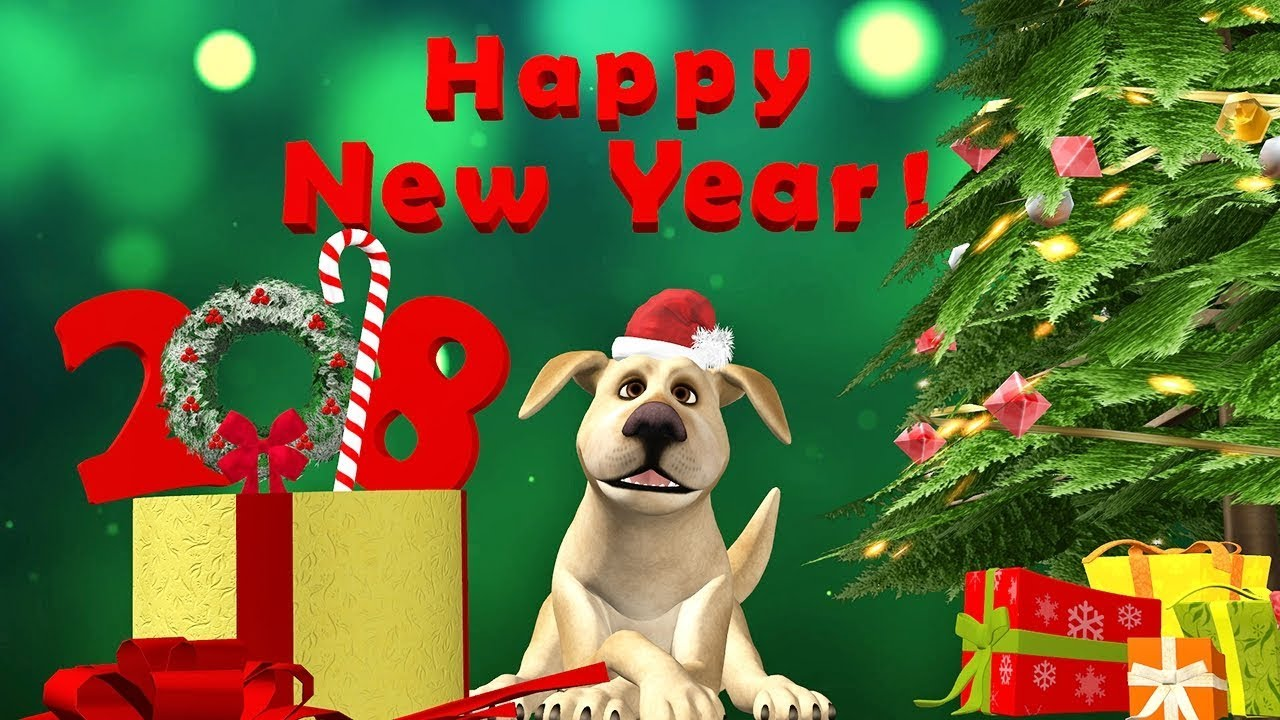 happy new year 2018 happy new year of the dog message