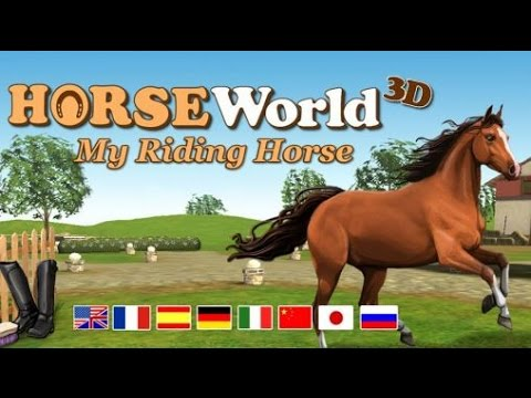 HorseWorld 3D: My Riding Horse - Симулятор конного центра  на Android ( Review)