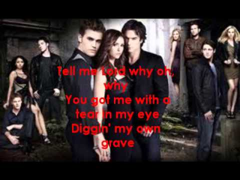 Vampire Diaries-Diggin' My Own Grave Nik Ammar (Lyrics)