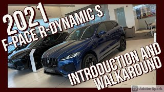 2021 JAGUAR F-PACE R-DYNAMIC S D200 Introduction and walk around