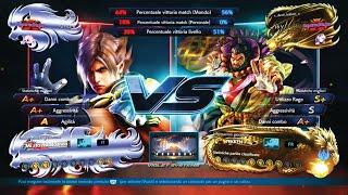 Tekken 7 riga89 (Lars) VS x_devil_tekken_x (Ganryu) Online Ranked Mode