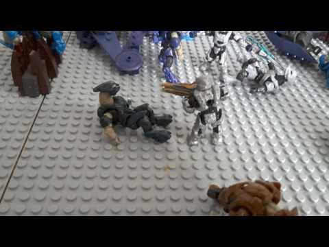 The challenger  (halo mega bloks moc/diorama) #27 plus moc contest update