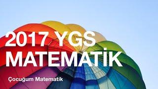 2017 YGS MATEMATİK ÇÖZÜMLERİ (1-15)