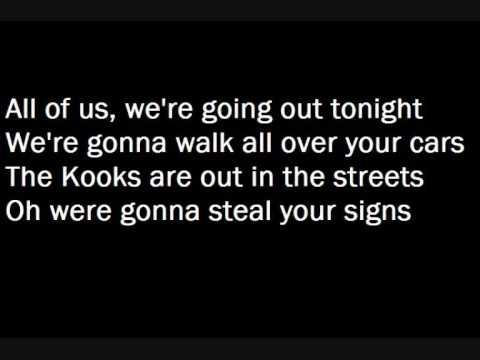 The Kooks- Matchbox (with lyrics)