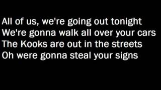 The Kooks- Matchbox (with lyrics)