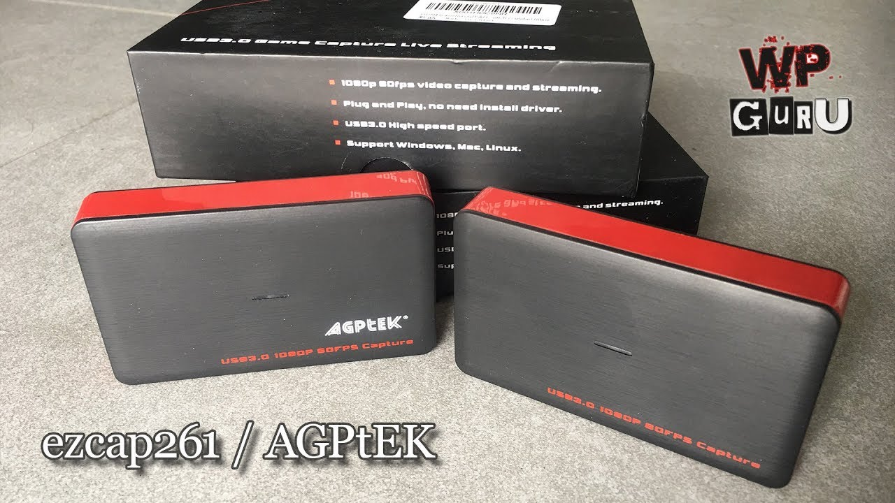 ezcap 261 / AGPtEK / MYPIN USB3 – Game Capture Review | The