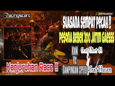Saling BLAYErrrr !! KRM Feat UBET VS GAMPINGAN SPEED Feat HUSEN # AT KANJURUHAN