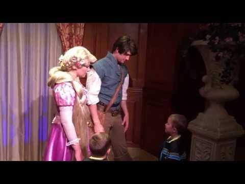 rapunzel meet greet magic kingdom